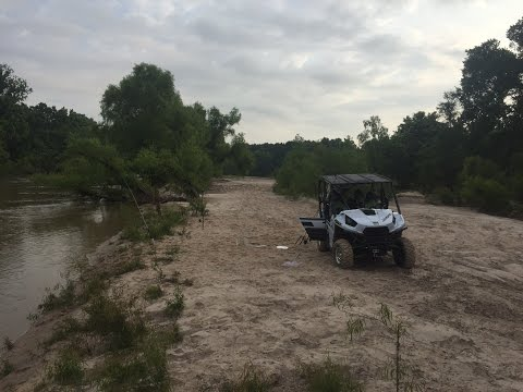 Catfishing On San Jacinto River