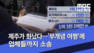 제주가 화났다…'무개념 여행'에 업체들까지 소송 (20…
