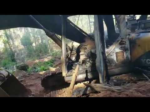 Agentes do IBAMA queimam maquinários e deixam prejuízo milionário em garimpo de Itaituba