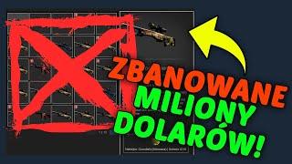 TOP 10 NAJDROŻSZYCH ZBANOWANYCH EKWIPUNKÓW W CS:GO 10,000,000ZŁ!