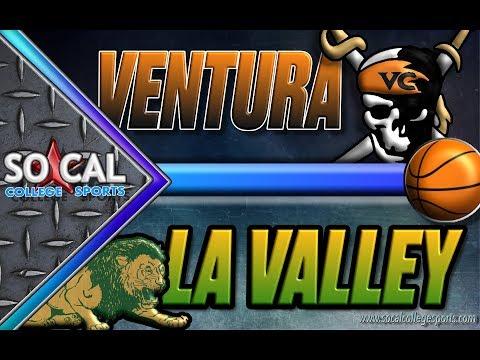 CCCAA Men's Basketball: LA Valley vs Ventura - 11/3 - 3pm