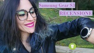 Samsung Gear S3, recensione completa del miglior smartwatch top di gamma