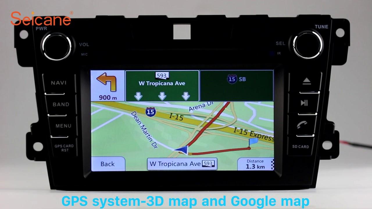 Aftermarket Radio 2007 2014 Mazda Cx 7 Bluetooth Gps Dvd Player Fuse Diagram Support Dvr Digital Tv