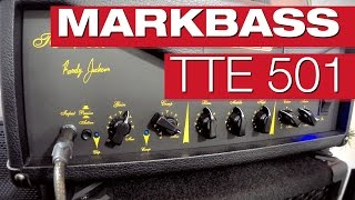 Markbass TTE 501 und New York 122 Ninja Bassverstärker-Review mit Claudio Zanghieri