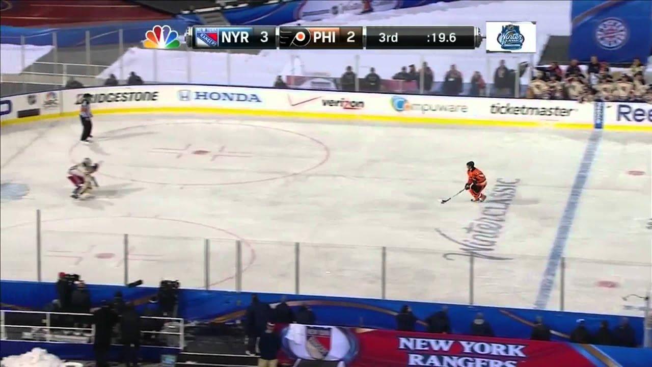 2012 Winter Classic - Lundqvist Stops Briere Penalty Shot (HD) - YouTube 78cb1318c