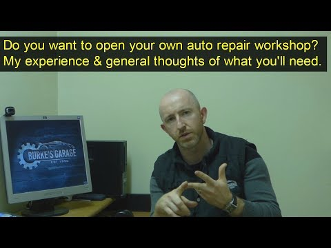 Should I open my own auto repair workshop? What you will need to succeed long term.