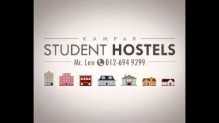 KTAR Student Hostels Home for Rent in Kampar Perak Malaysia