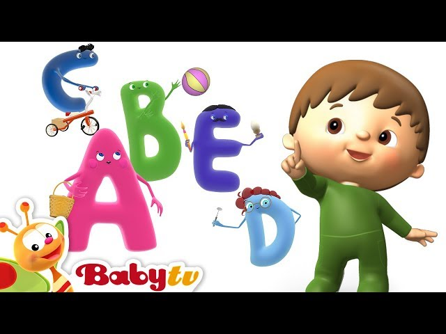 ABC Song | Letters with Charlie | BabyTV