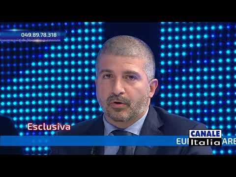 Simone Di Stefano (CasaPound) a Notizie Oggi Lineasera | Canale Italia (HD)