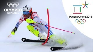 Lindsey Vonn's Alpine Skiing Highlights | PyeongChang 2018