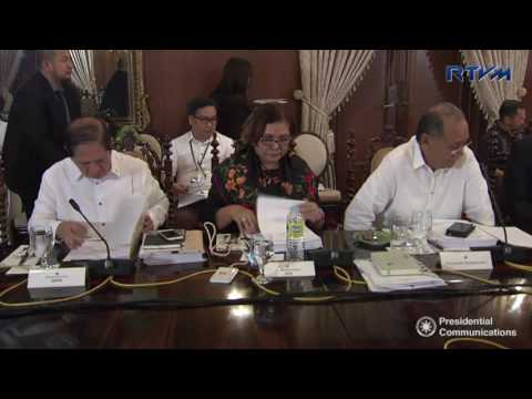 36th Presidential Agrarian Reform Council (PARC) Meeting 2/28/2017