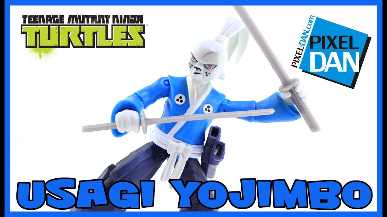 Usagi Yojimbo Teenage Mutant Ninja Turtles Nickelodeon Figure Video