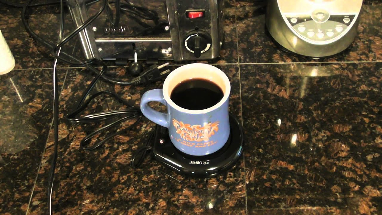 Mr. Coffee Mug Warmer Product Review - YouTube