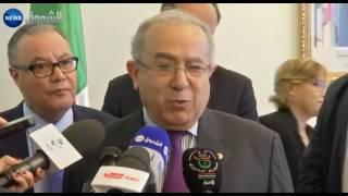 لعمامرة يصف ساركوزي بالمدمن على الخطأ وينتقد سفير فرنسا بالجزائر