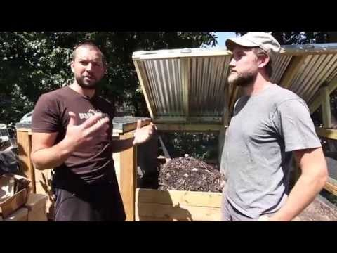 Open Source Compost Bins by Urban Farm Plans: Rat-Proof & Long-Lasting