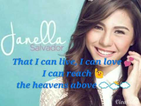 I Can-Janella Salvador Lyrics
