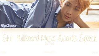 [HAN ROM ENG] BTS (방탄소년단) - Skit : Billboard Music Awards Speech (Color Coded Lyrics) - bts skit billboard music awards speech скачать