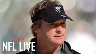 Jon Gruden to be announced as Raiders Head Coach; Contract reports: 10 yrs, $100M | NFL Live | ESPN