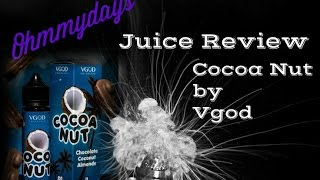 VGOD: Cocoa Nut Review!