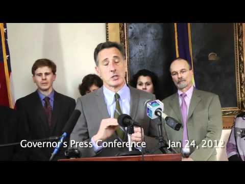 VT Governor Press Conference: Vermont Yankee