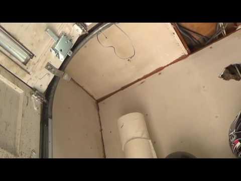 how to extend garage door  for a lift