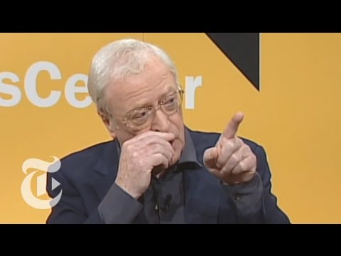 TimesTalks: Michael Caine: Five Favorite Films  The New York Times