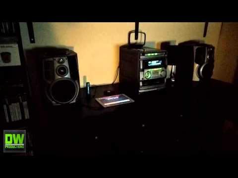 Aiwa NSXS707 HiFi System  Volume Test