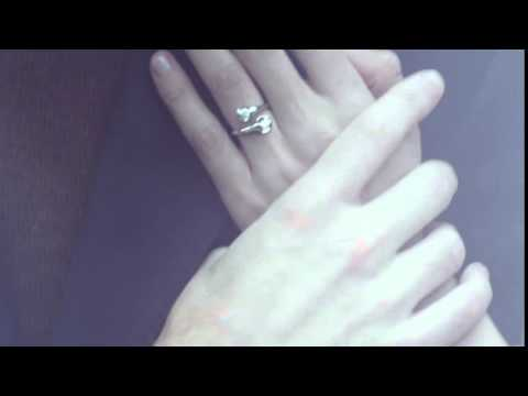 """Реклама """"Отражение"""" кольцо с бриллиантами. """"Бронницкий ювелир"""""""
