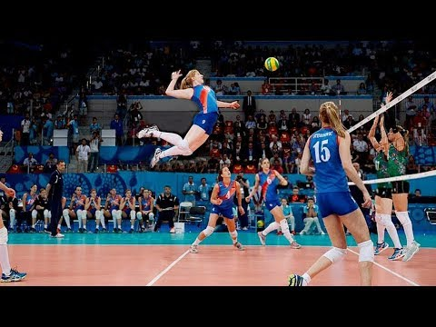 TOP 20 Legendary Women's Volleyball Spikes Of All Time (HD)