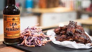 Lea & Perrins Sorted Food - How To Make Delicious Bbq Ribs And Homemade Coleslaw