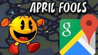 Play Pac-Man in Google Maps | Secret April Fools Day Trick Free HD Video