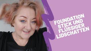 Stick Foundation und flüssige Lidschatten