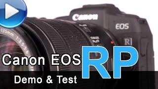 Canon EOS RP - Demo & Test