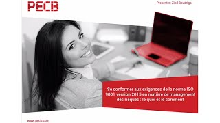 Se conformer aux exigences de la norme ISO 9001:2015 en matière de management des risques