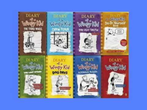 Diary of a wimpy kid 8 books collection set children books youtube diary of a wimpy kid 8 books collection set children books solutioingenieria Images