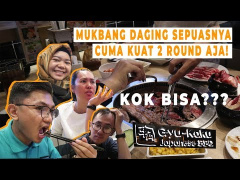GYU-KAKU PTC SURABAYA   Mukbang Daging Premium Sepuasnya Di Batasi 90 Menit Cuma Kuat 2 Round Aja