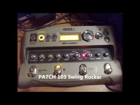 JM4  LOOPER LINE 6  jam with some patches
