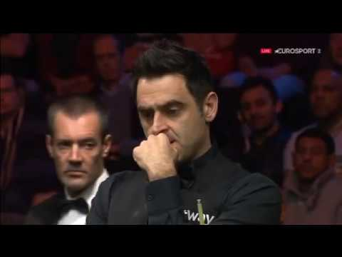 ronnie o'sullivan vs Selby tactical Snooker battle Frame 2017 - Players Championship Snooker-ALLin1
