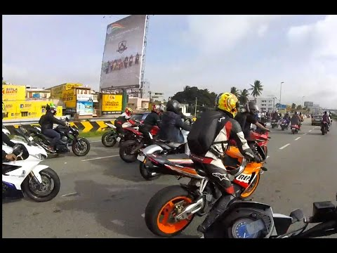 RICH KIDS OF BANGALORE City, EXPENSIVE SUPERBIKES AND REACTIONS