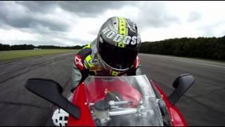 Neil Hodgson rides Ducati 1198 in 3D