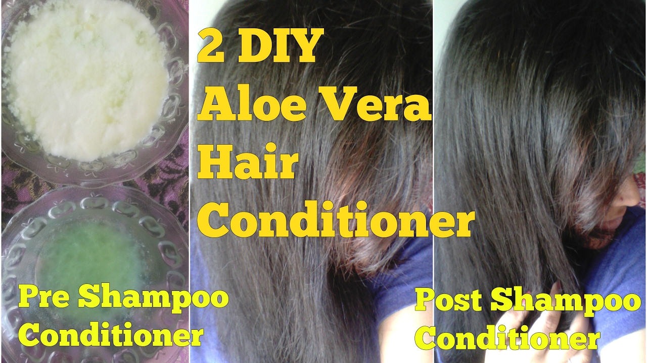 diy aloe vera deep conditioner for natural hair homemade