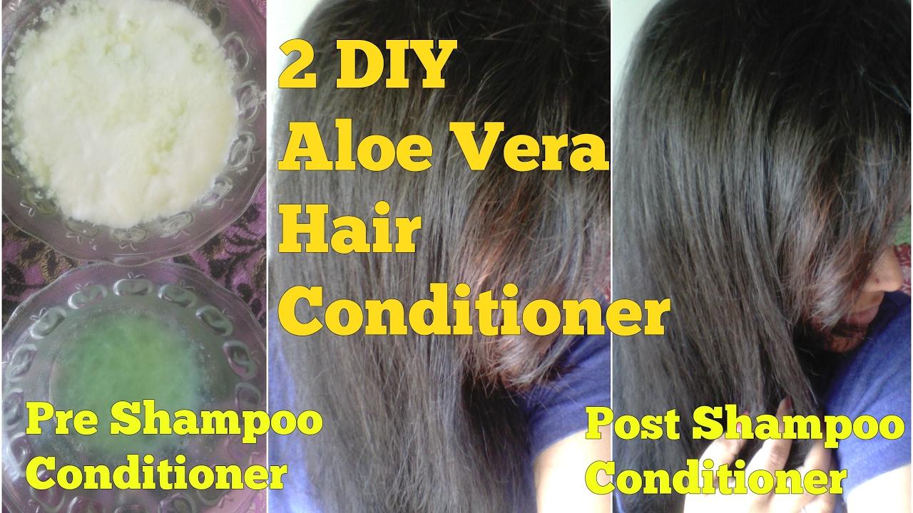 Diy Aloe Vera Deep Conditioner For Natural Hair Homemade