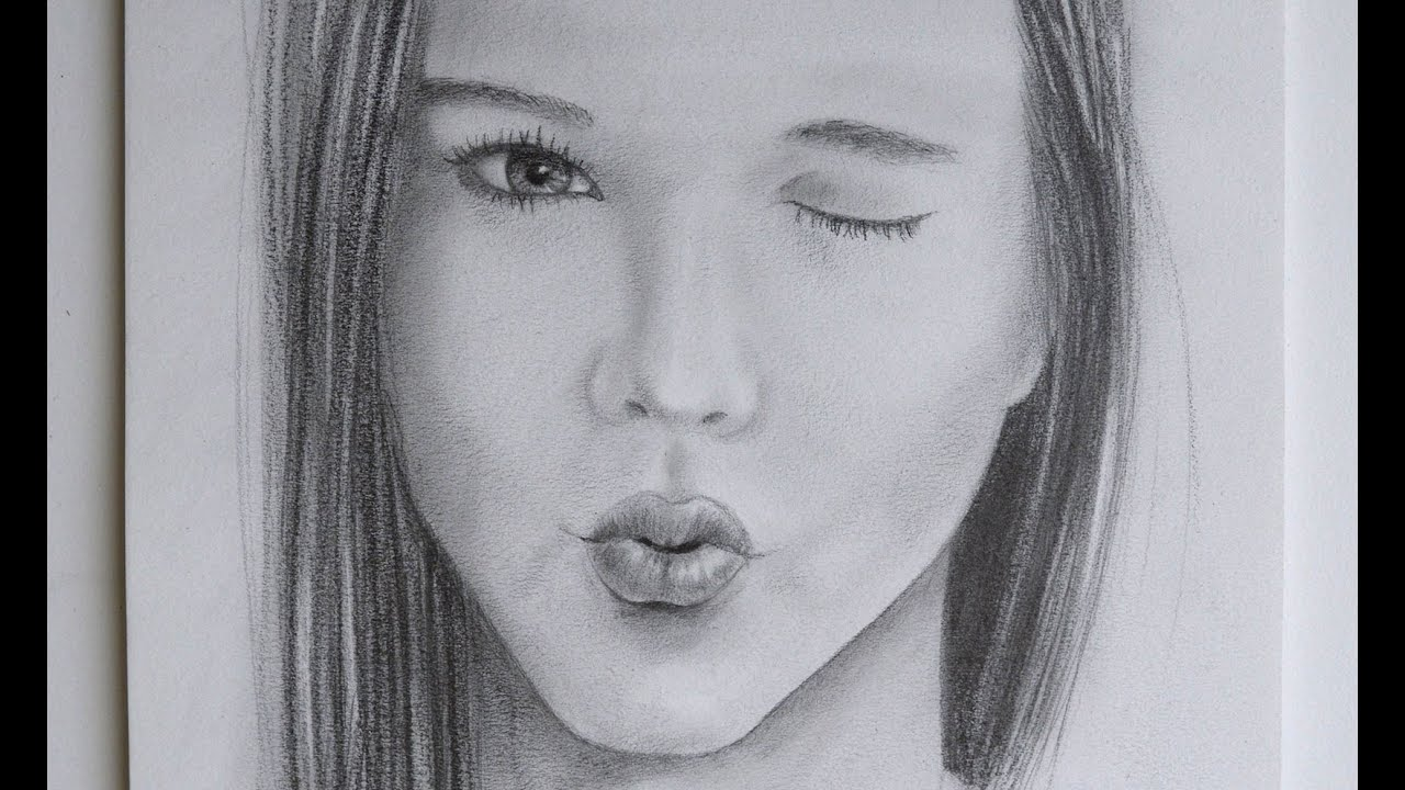 how to draw womans fang mouth