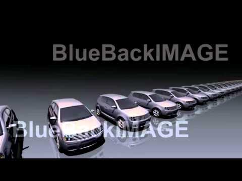 著作権フリー 映像素材 動画素材 車 工業 自動車 産業 Sma fb
