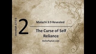 Lesson 2 The Curse of Self Reliance