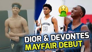 Dior Johnson & Devontes Cobbs Make MAYFAIR DEBUT With Josh Christopher!! Are They The New BIG 3!? 😳