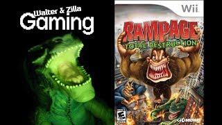 Walter & Zilla Gaming - Rampage: Total Destruction (Wii)