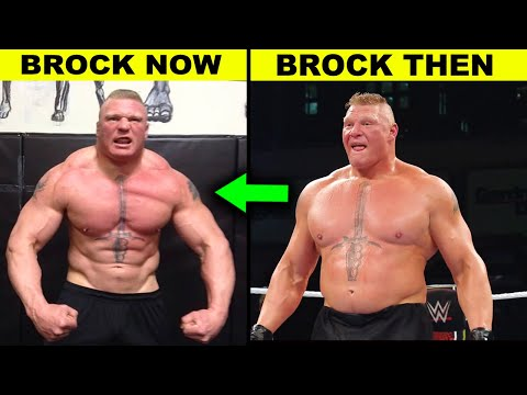 10 Amazing WWE Body Transformations 2020 Brock Lesnar New Physique Revealed