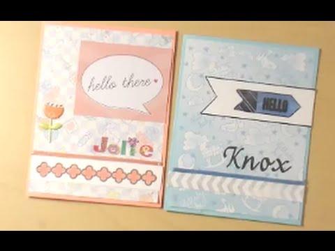 congratulations on baby card