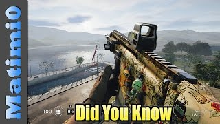 Did You Know - Rainbow Six Siege - Episode 5